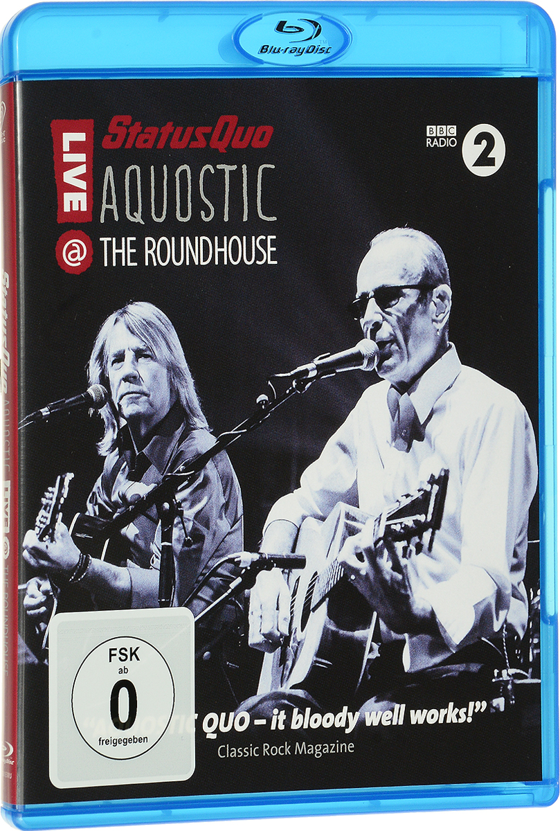 Status Quo: Aquostic! Live At The Roundhouse (Blu-ray) the mba reality check