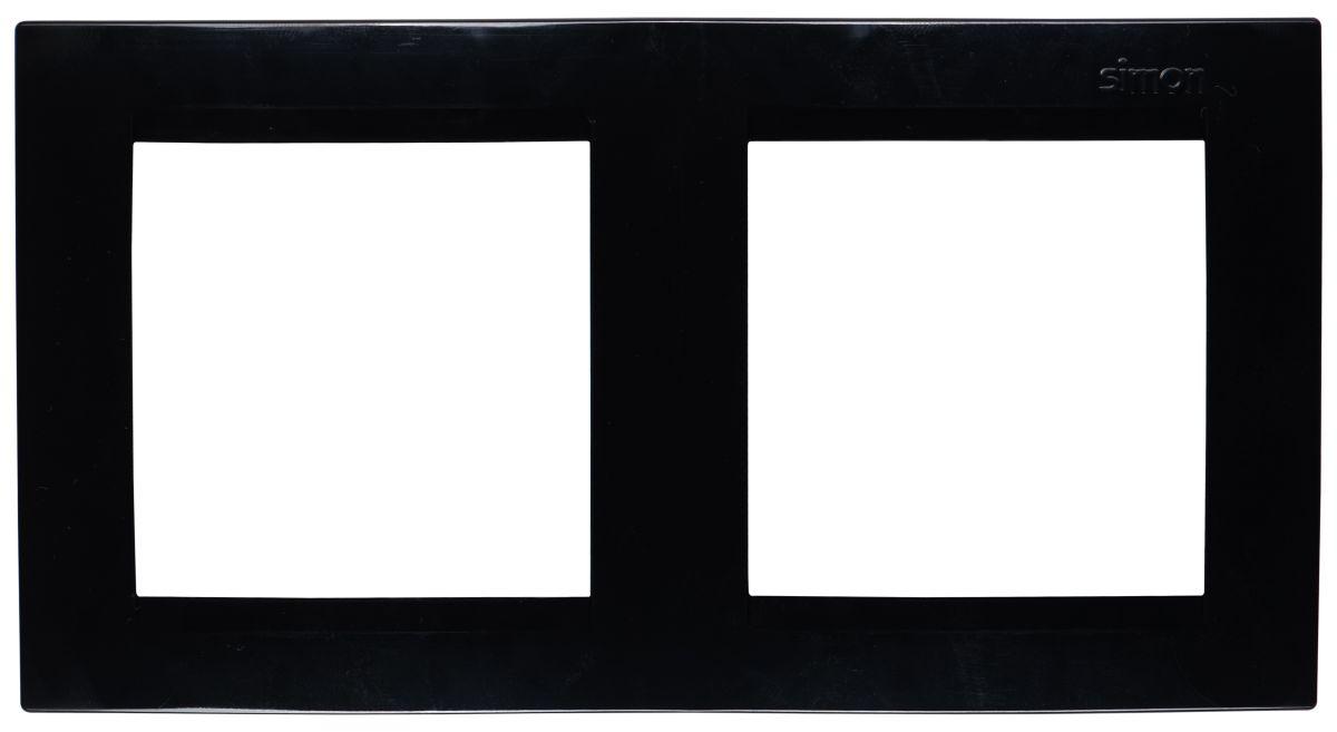 Рамка Simon Electric, 2 поста, цвет: черный simon ghraichy bogota