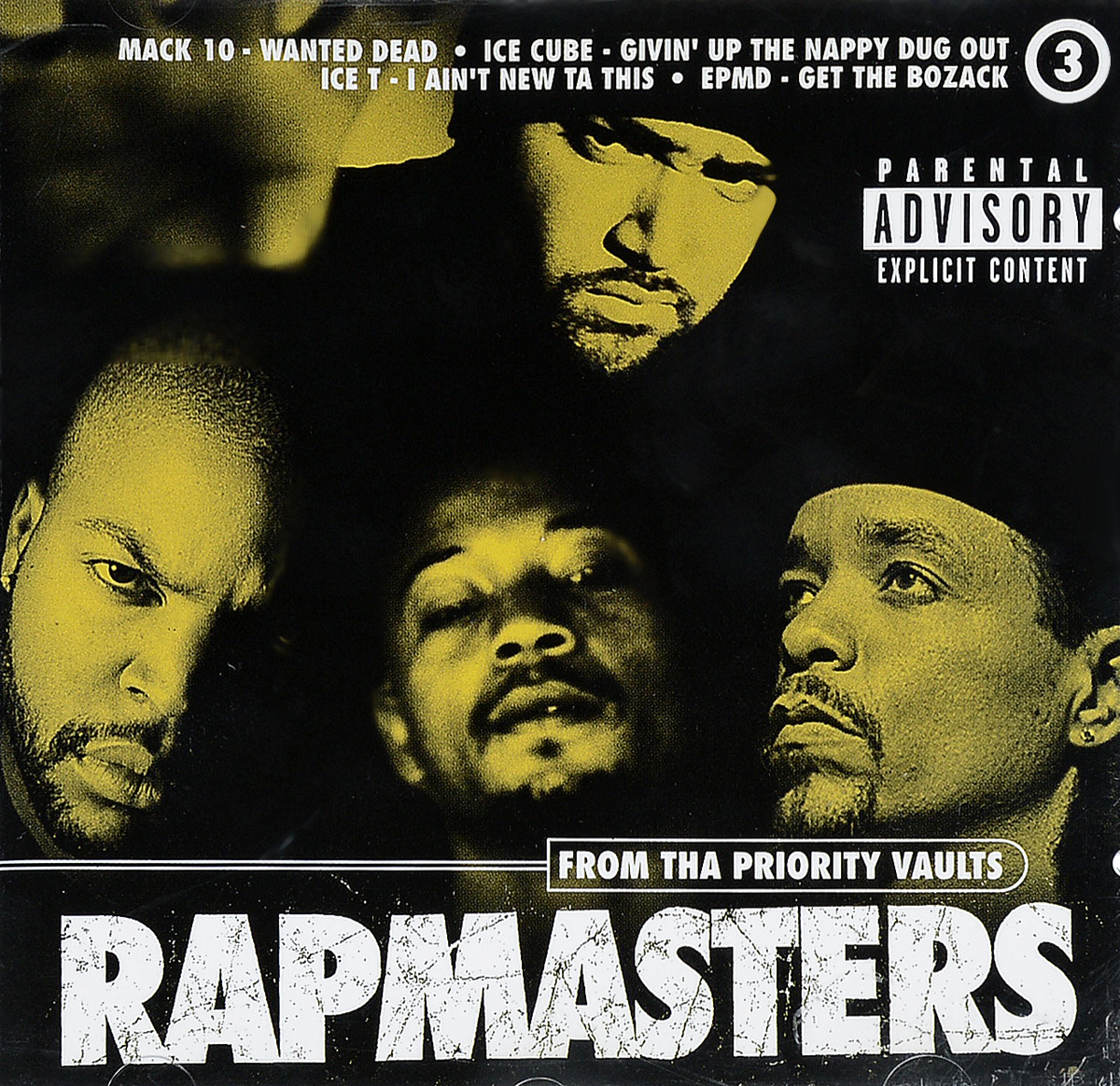 лучшая цена Various Artists Various Artists. Rapmasters Vol.3