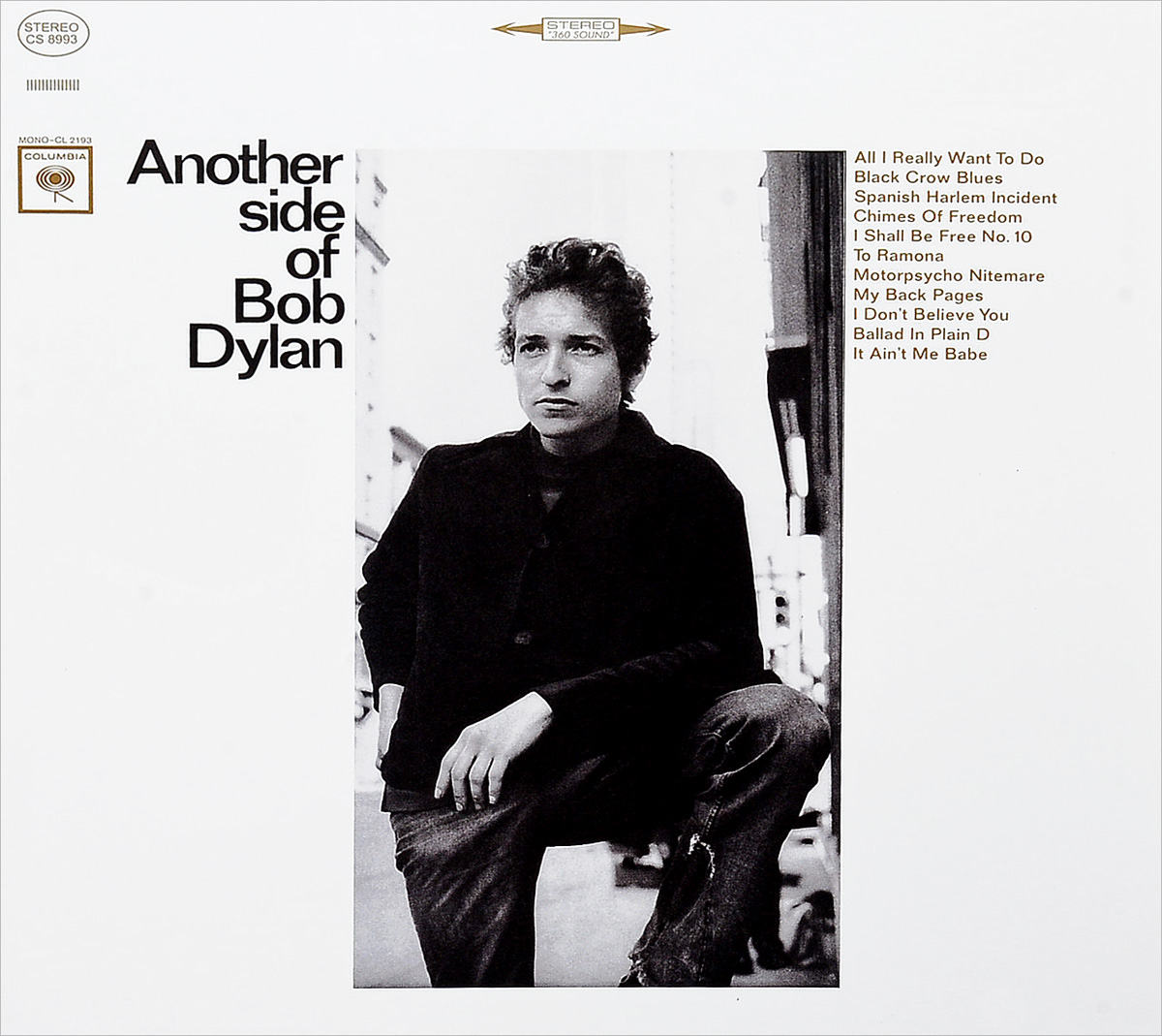 Боб Дилан Bob Dylan. Another Side Of Bob Dylan (LP) боб дилан bob dylan new morning