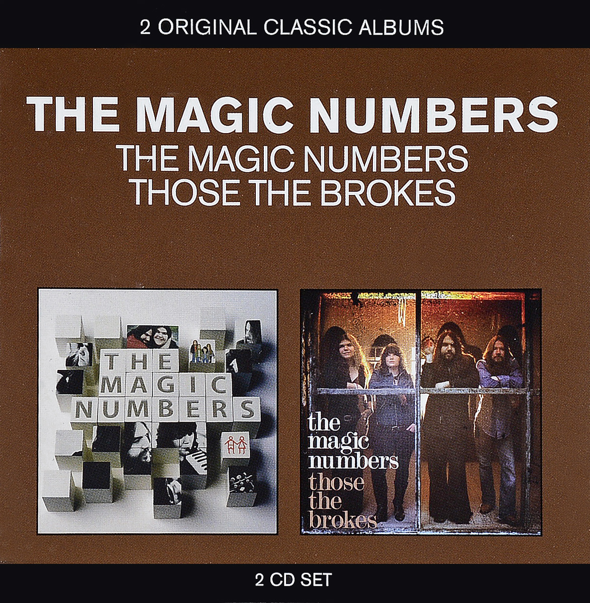 The Magic Numbers The Magic Numbers - 2 Original Classic Albums. The Magic Numbers, Those The Brokes (2CD) the magic paint