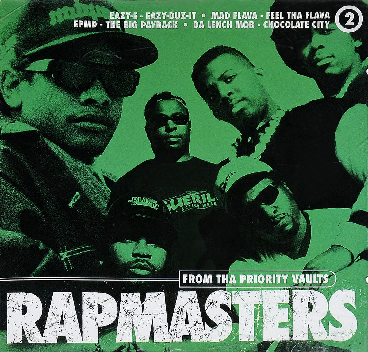 лучшая цена Various Artists Various Artists. Rapmasters Vol.2