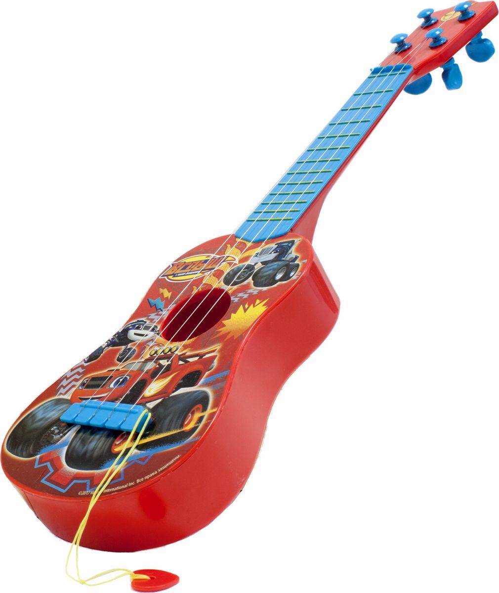 Вспыш Гитара с медиатором гитара игрушечная росмэн с медиатором вспыш