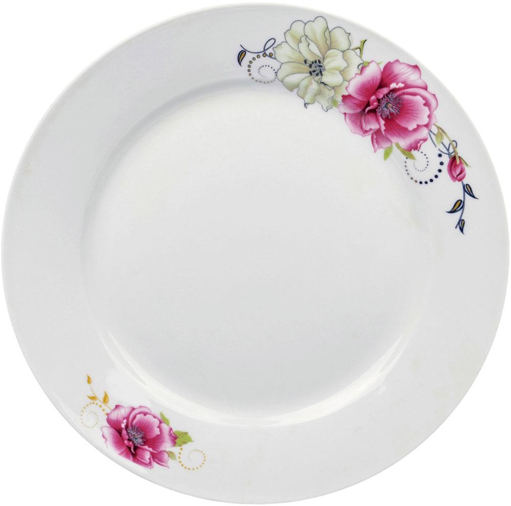 """Тарелка десертная Ningbo Royal """"Роза"""", диаметр 20 см"""