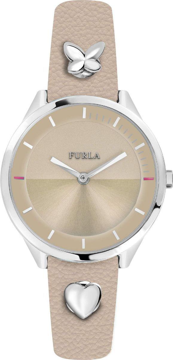 лучшая цена Часы наручные женские Furla, цвет: бежевый. R4251102540