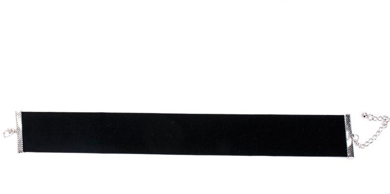 """Чокер Bradex """"Вельвет"""", цвет: черный. AS 0326"""