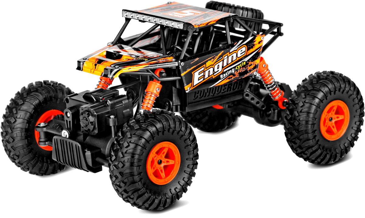 Wltoys Машина радиоуправляемая Climbing Car 18428-B цвет оранжевый цена