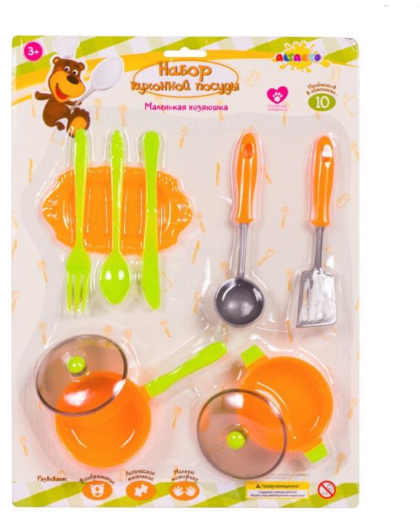Altacto Игровой набор кухонной посуды Маленькая хозяюшка в ассортименте игровой набор для девочки плэйдорадо хозяюшка