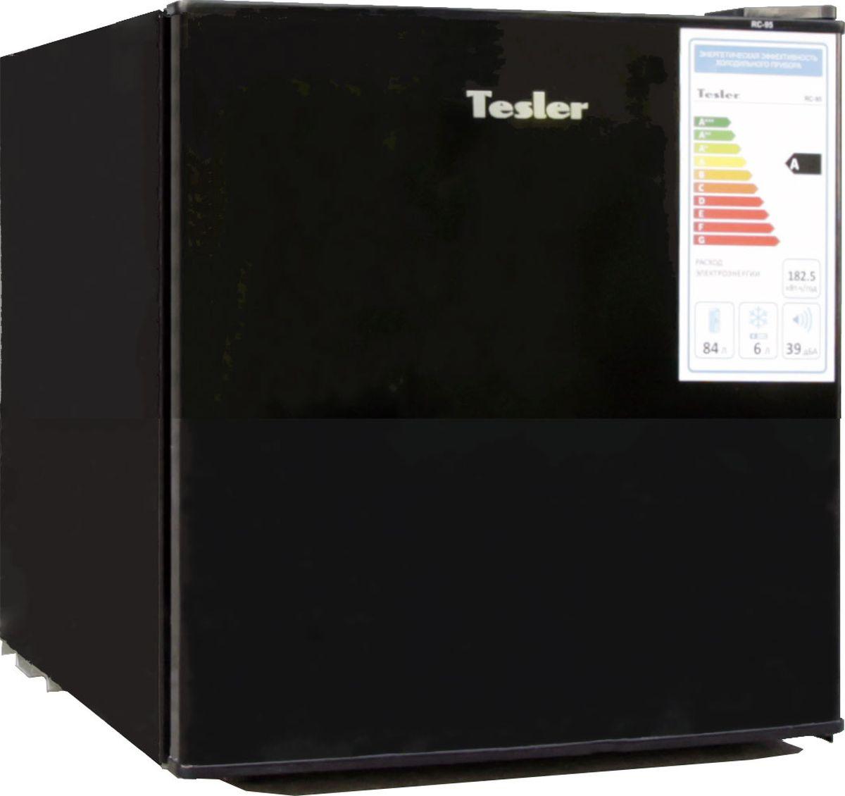 Холодильник Tesler RC-55, черный