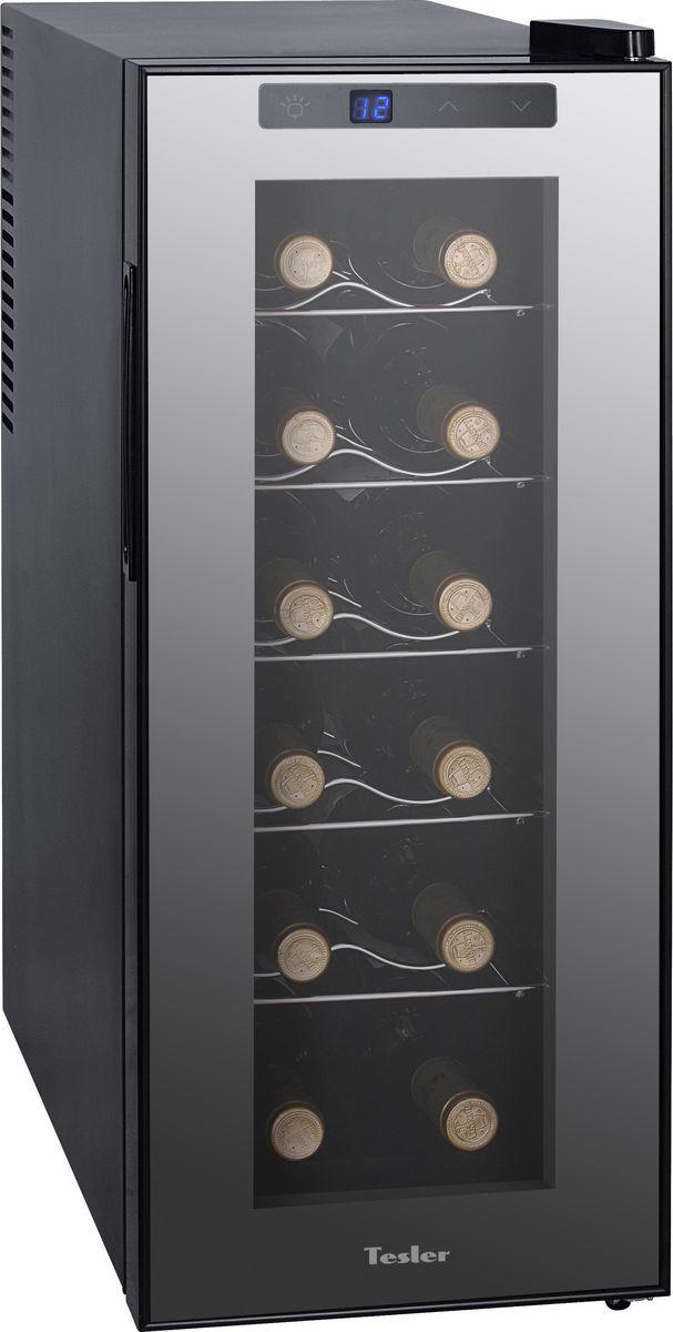 лучшая цена Винный шкаф Tesler WCV-120