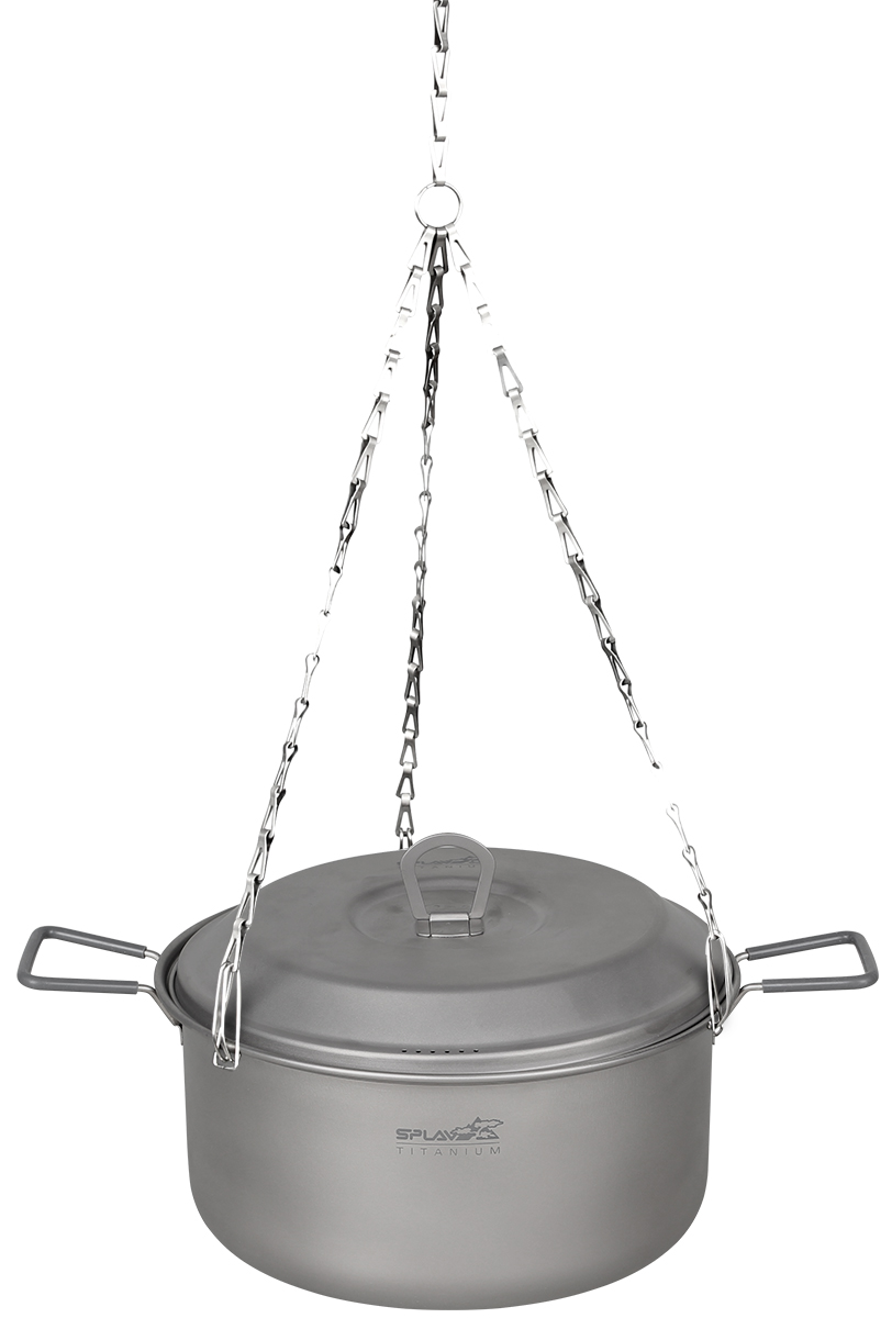 Костровой трос титановый сборный Сплав, цвет: серый металлик цена