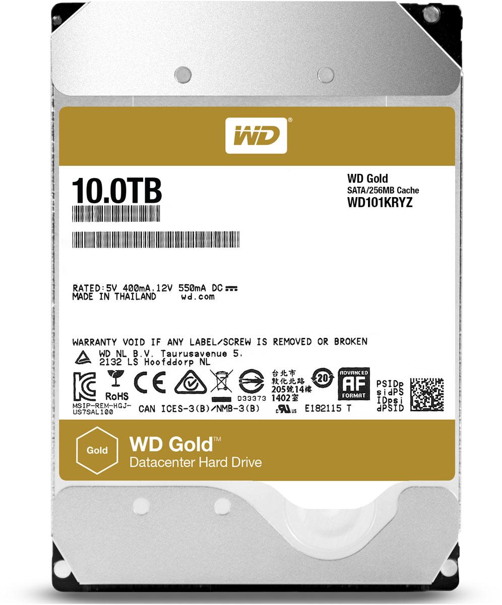 Внутренний жесткий диск WD Gold 10TB (WD101KRYZ) круглосуточная авиакасса