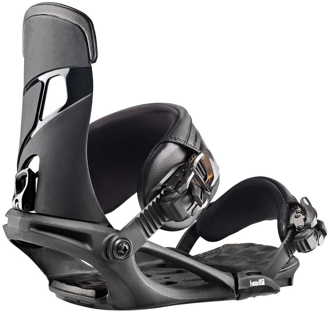 Крепления для сноуборда Head Nx One, цвет: черный. Размер XL