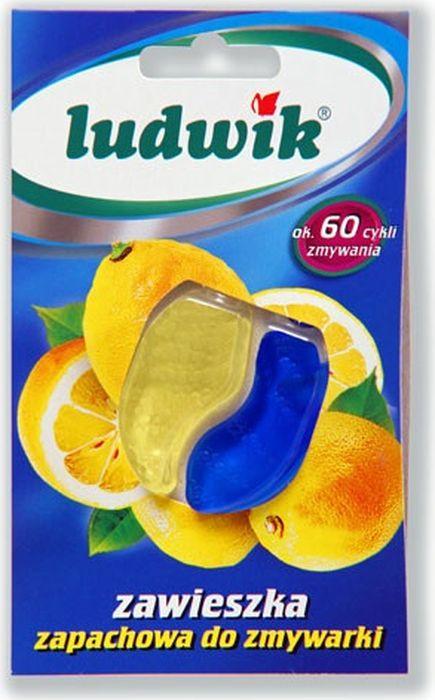 Гель для посудомоечных машин Ludwik, освежитель, 6,6 мл освежитель для посудомоечных машин frisch aktiv запах морской лимонный 2 шт