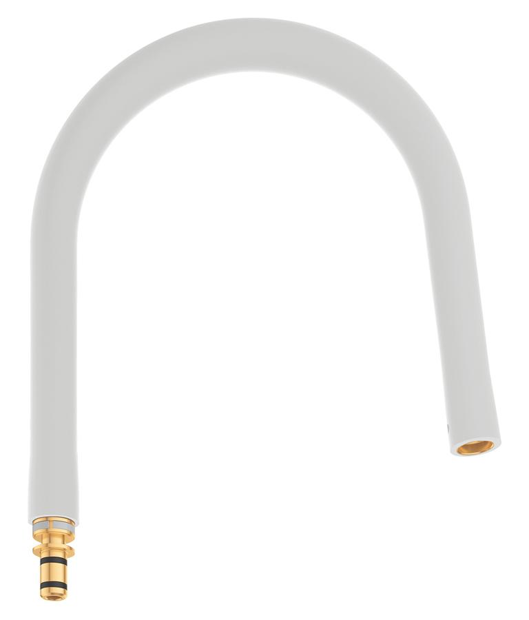 Шланг гибкий Grohe GrohFlexx, для профессиональных смесителей Grohe Essence, цвет: белый шланг для мойки 2