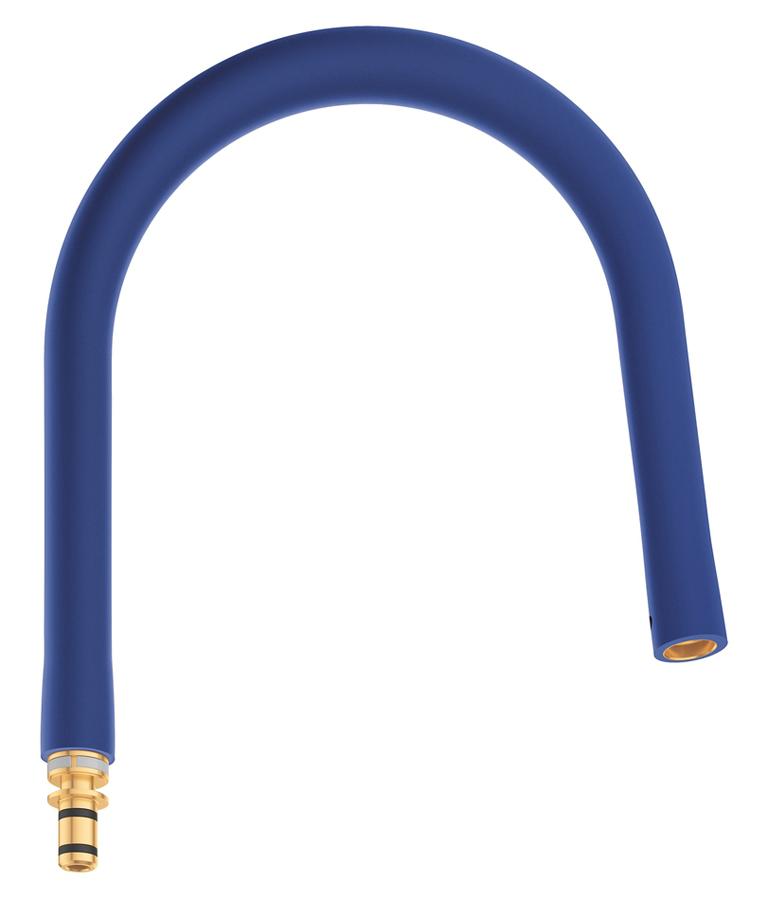 Шланг гибкий Grohe GrohFlexx, для профессиональных смесителей Grohe Essence, цвет: синий шланг для мойки 2