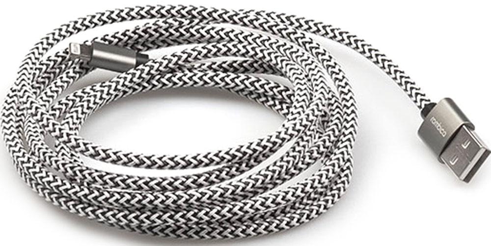 Rombica Digital IB-04, Gray кабель USB-Lightning (2 м) цена и фото
