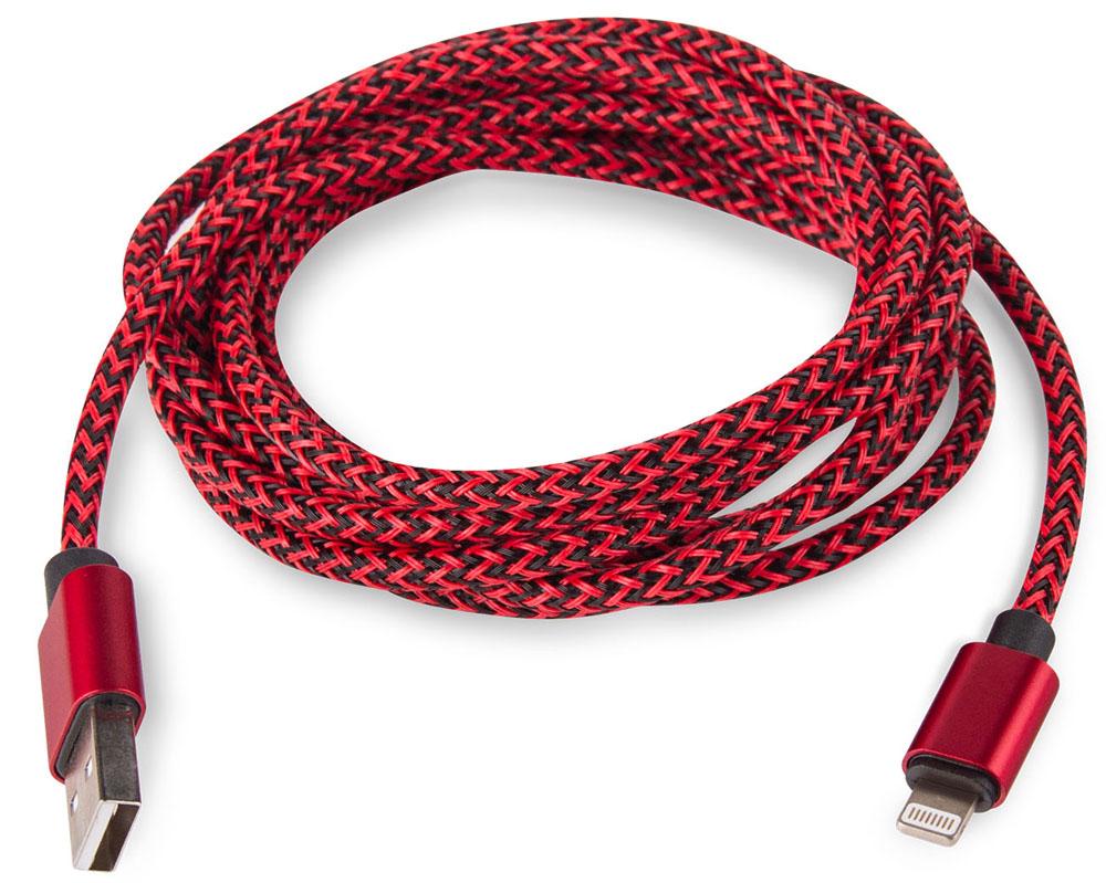 Rombica Digital IB-04, Red кабель USB - Lightning (2 м) цена и фото