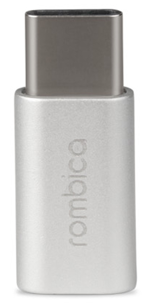 Rombica Type-C Adapter, Silver переходник microUSB - Type C адаптер переходник rombica type c adapter m