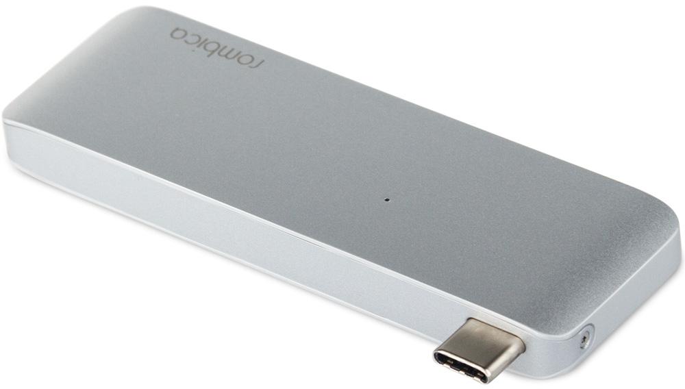 Rombica Type-C M3, Gray USB-концентратор