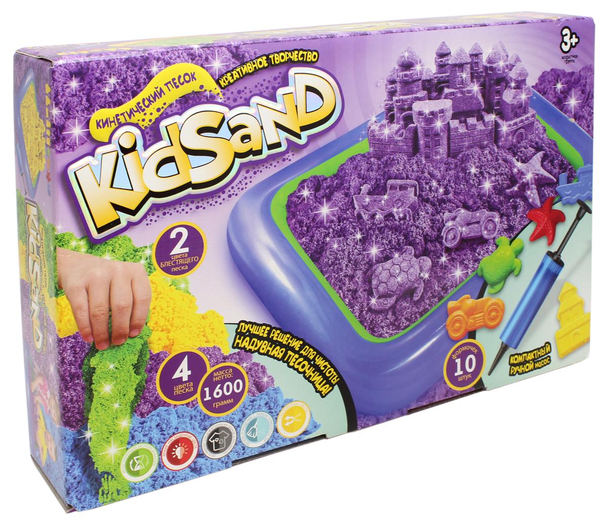 Danko Toys Кинетический песок Kidsand 4 цвета 1,6 кг