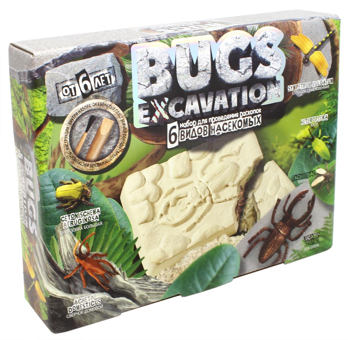 Danko Toys Набор для раскопок Bugs Excavation Жуки набор для раскопок danko toys bugs excavation жуки набор 4