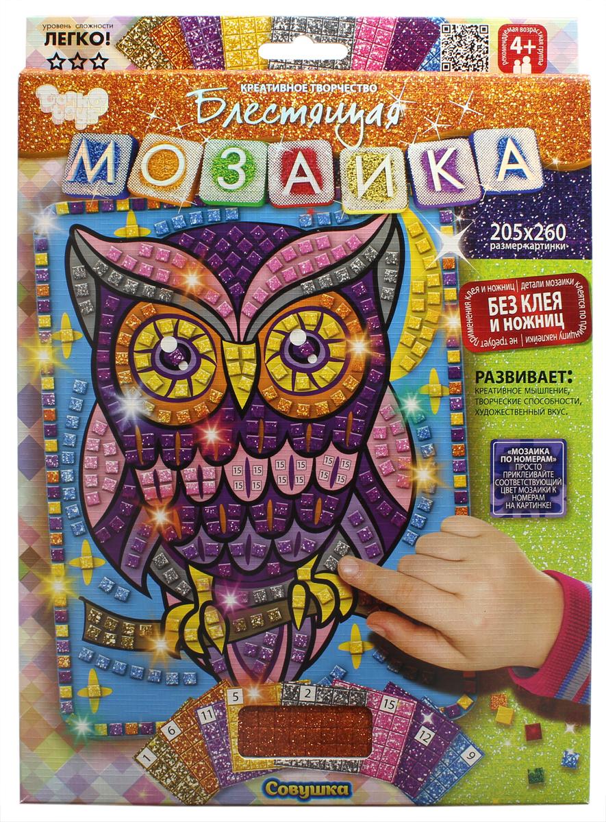 Danko Toys Картина мозаикой Сова