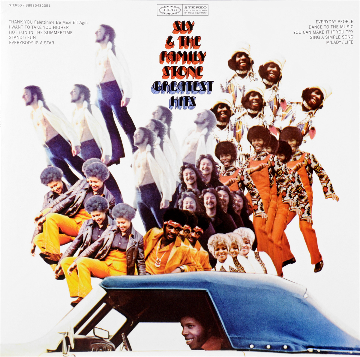Sly & The Family Stone Stone. Greatest Hits (LP)