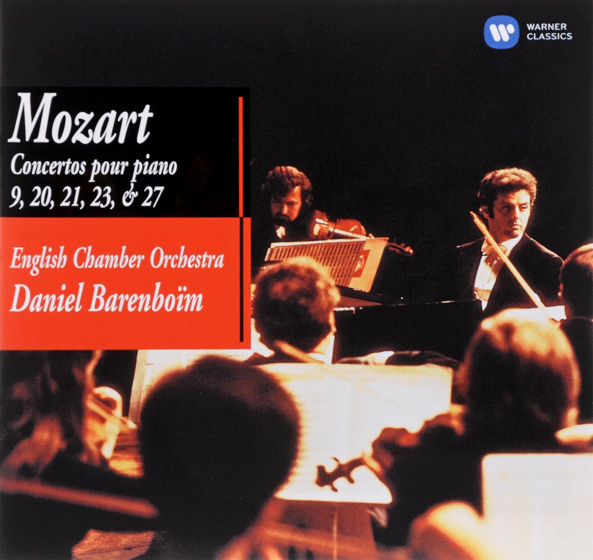 цена Дэниэл Баренбойм,English Chamber Orchestra Daniel Barenboim. English Chamber Orchestra Piano Concerto Nos. 9, 20, 21, 23 & 27 (2 CD) онлайн в 2017 году