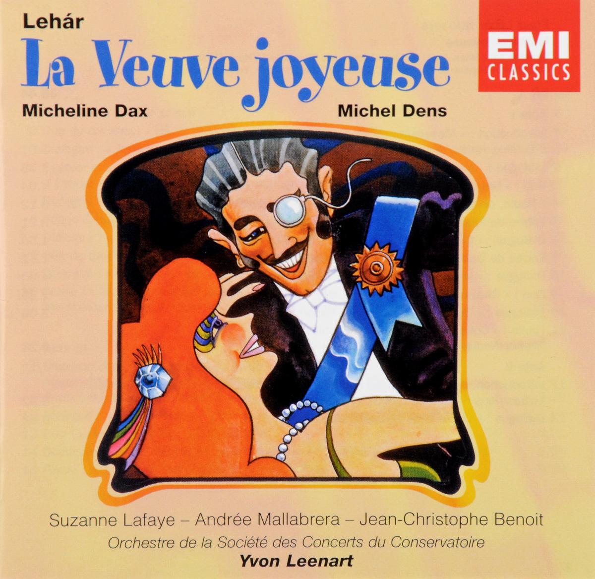 Dens, Dax, Lafaye, Leenart. Lehar. La Veuve Joyeuse (2 CD) мебель dax