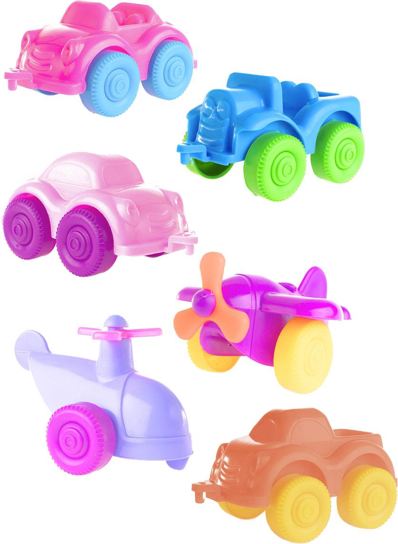 Пластмастер Набор Мини транспорт №1 пластмастер мини трек малютка