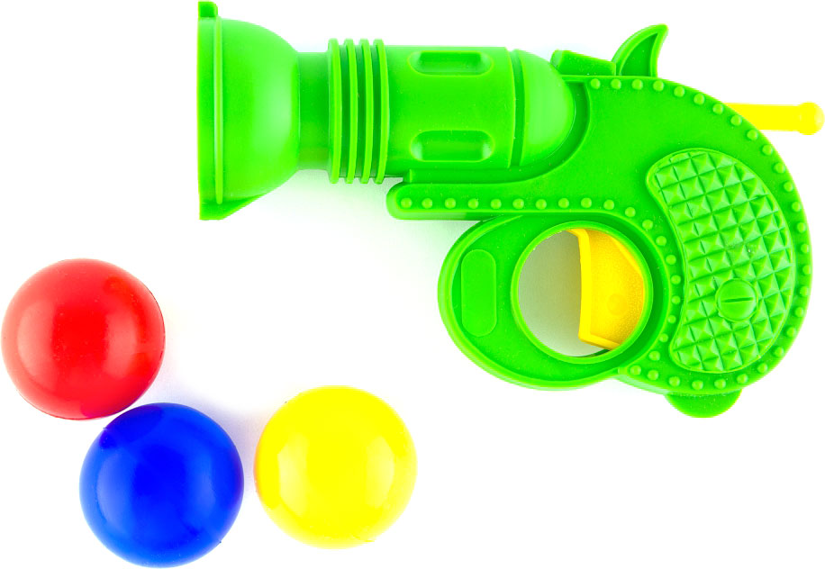Пластмастер Пистолет с шарами в ассортименте мяч пластмастер 70138 цвет в ассортименте