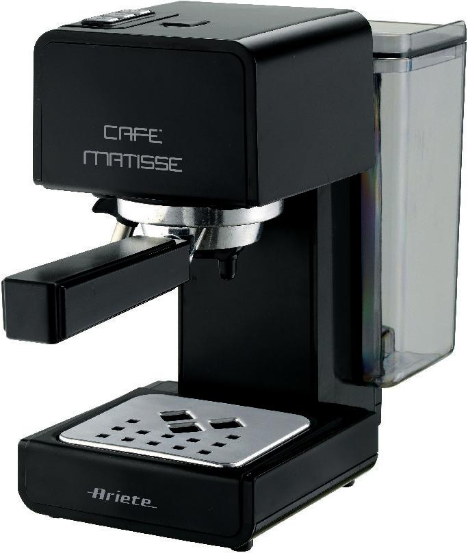Кофеварка рожковая Ariete 1363/10 Cafe Matisse, Black, эспрессо попкорница ariete 2952