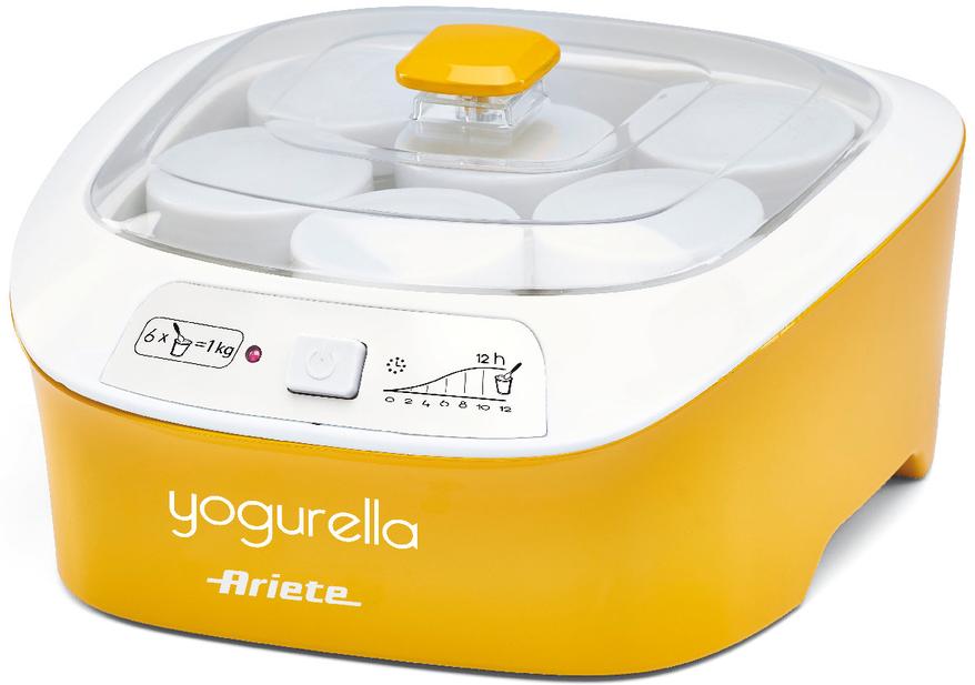 Ariete 626 Yogurella Rainbow, Yellow White йогуртница цены