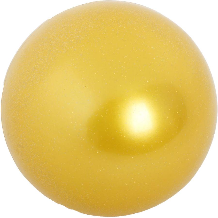 Мяч гимнастический Larsen, цвет: желтый, диаметр 19 см мяч гимнастический larsen цвет синий диаметр 19 см