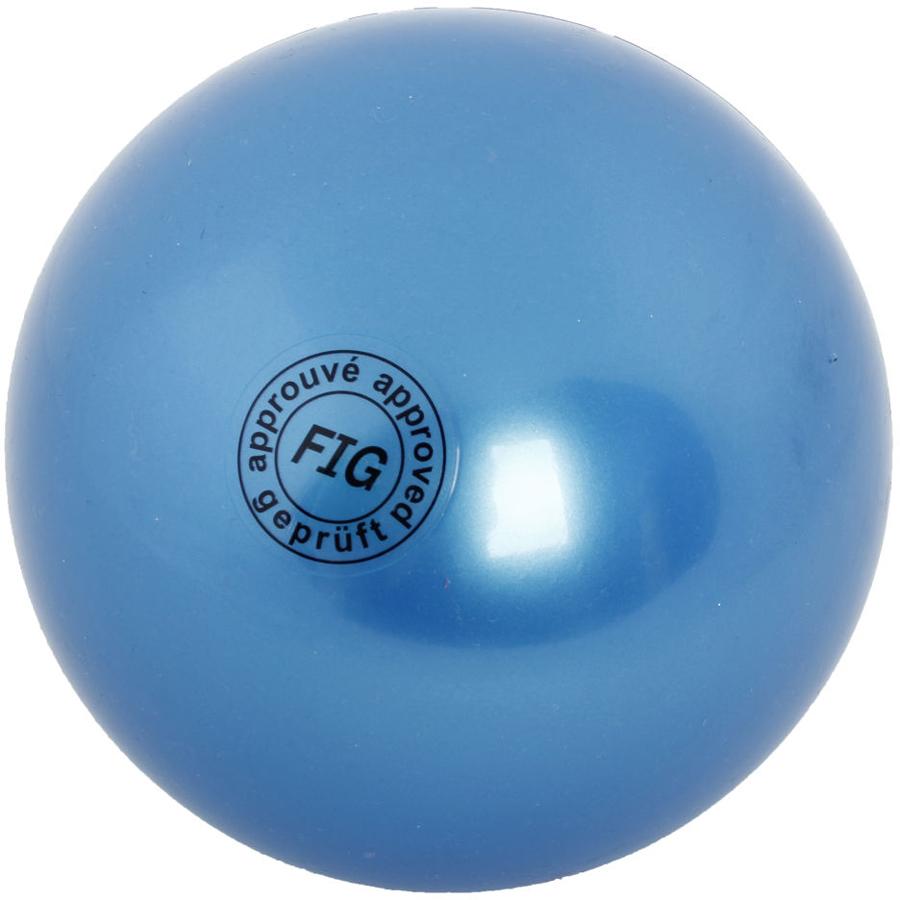 Мяч гимнастический Larsen, цвет: синий, диаметр 19 см мяч гимнастический larsen цвет синий диаметр 19 см