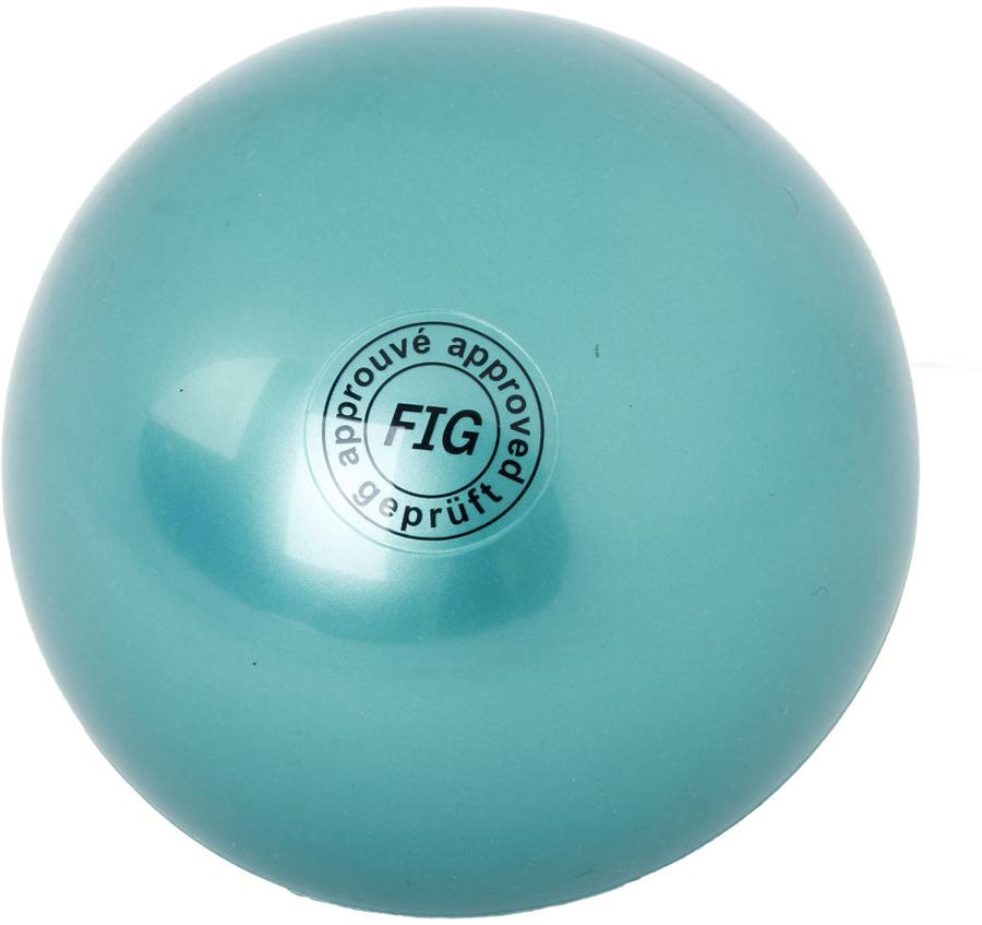 Мяч гимнастический Larsen, цвет: зеленый, диаметр 19 см мяч гимнастический torneo цвет зеленый диаметр 55 см