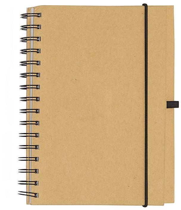 Fiteko Тетрадь 70 листов в клетку цвет светло-коричневый RPT-01