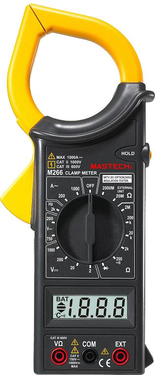 Клещи токовые Mastech M266F