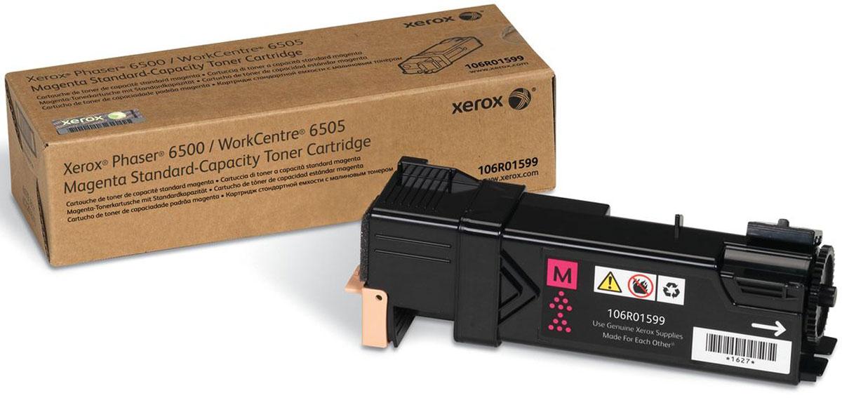 Картридж Xerox 106R01599, красный, для лазерного принтера, оригинал
