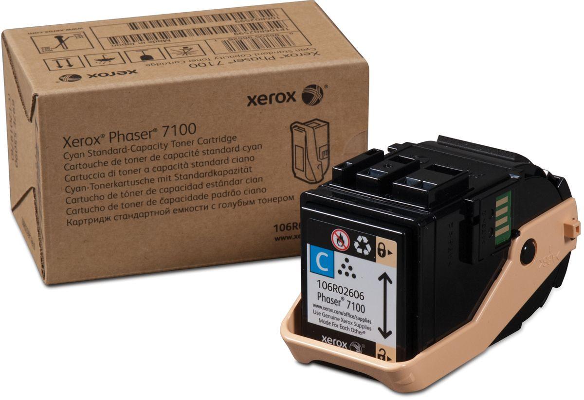 Xerox 106R02606, Cyan тонер-картридж для Xerox Phaser 7100