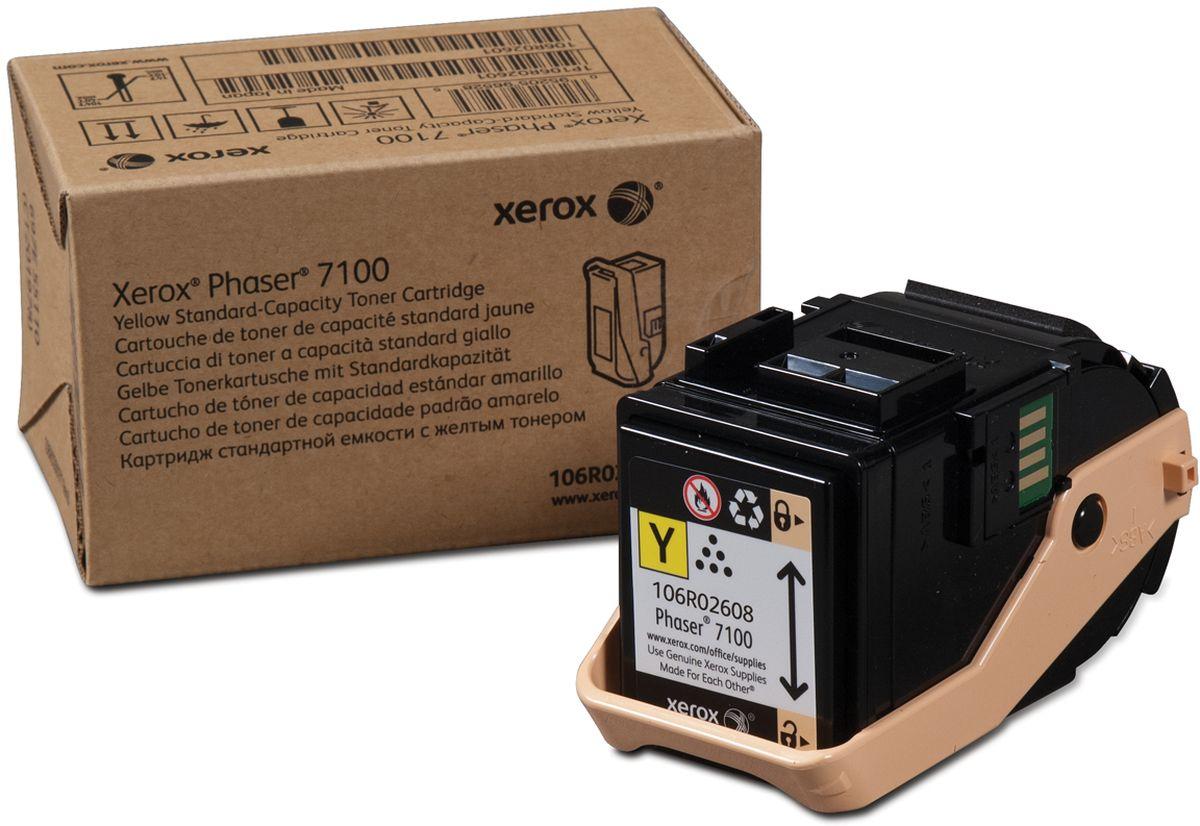 Xerox 106R02608, Yellow тонер-картридж для Xerox Phaser 7100