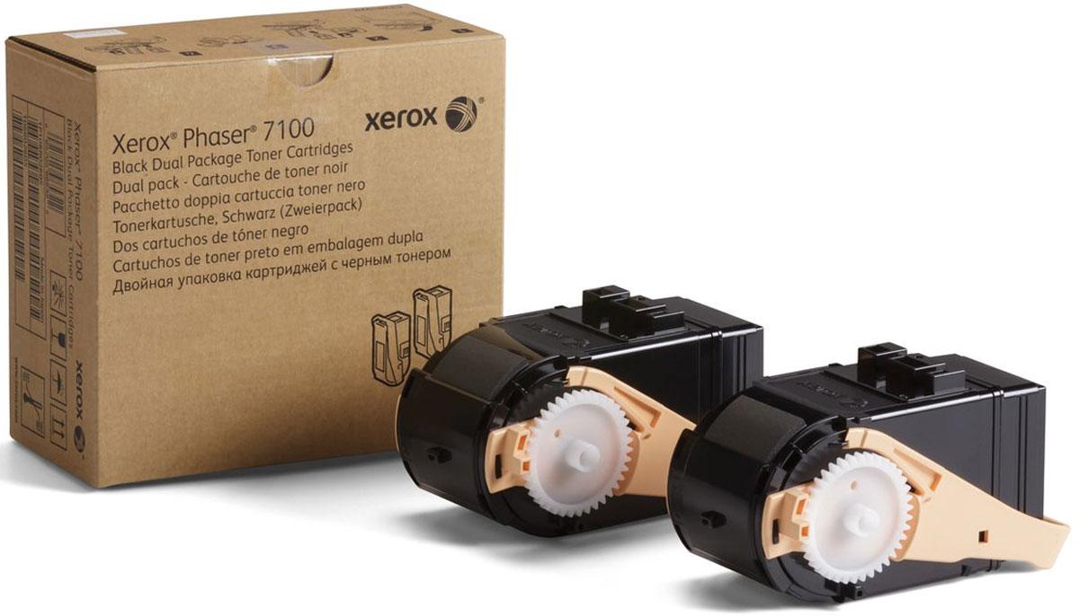 Картридж Xerox 106R02612, черный, для лазерного принтера, оригинал