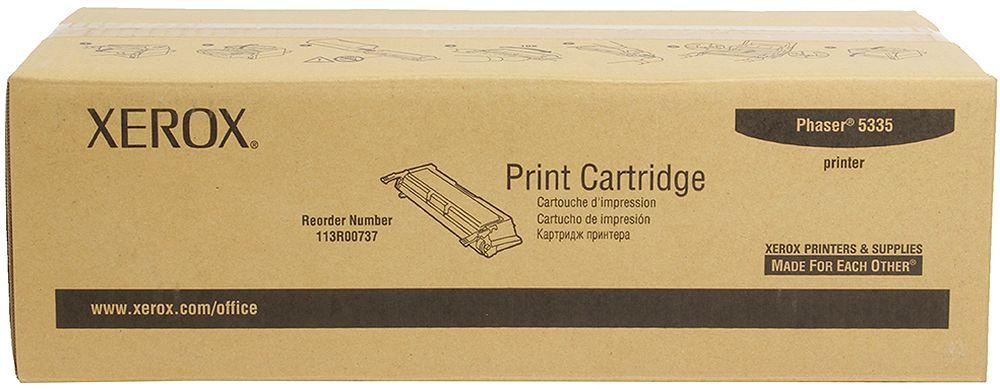 Картридж Xerox 113R00737, черный, для лазерного принтера, оригинал