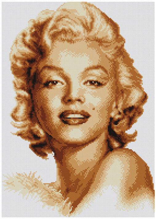 Набор для создания картины со стразами Цветной Мерлин, 40 х 50 см. LG006 набор для создания картины из шерсти цветной единорог 20 x 30 см