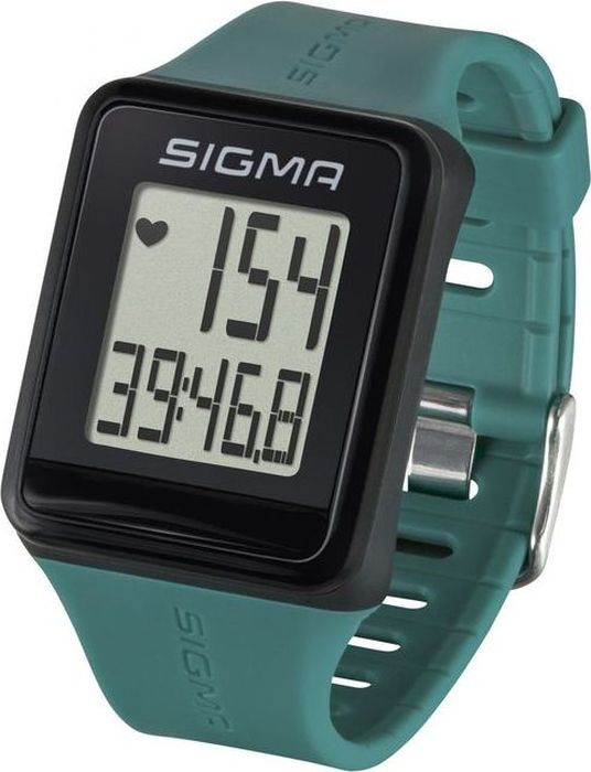 "Пульсометр Sigma ""iD.GO"", цвет: зеленый"