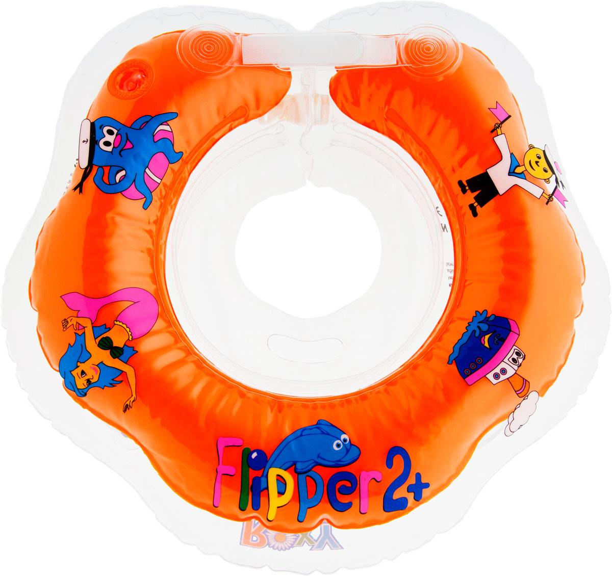 ROXY-KIDS Круг на шею для купания малышей Flipper 2+ цена
