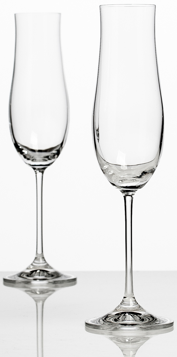 Набор бокалов для шампанского Bohemia Crystall Аттимо, 180 мл, 2 шт арт нуво ваза bohemia crystall