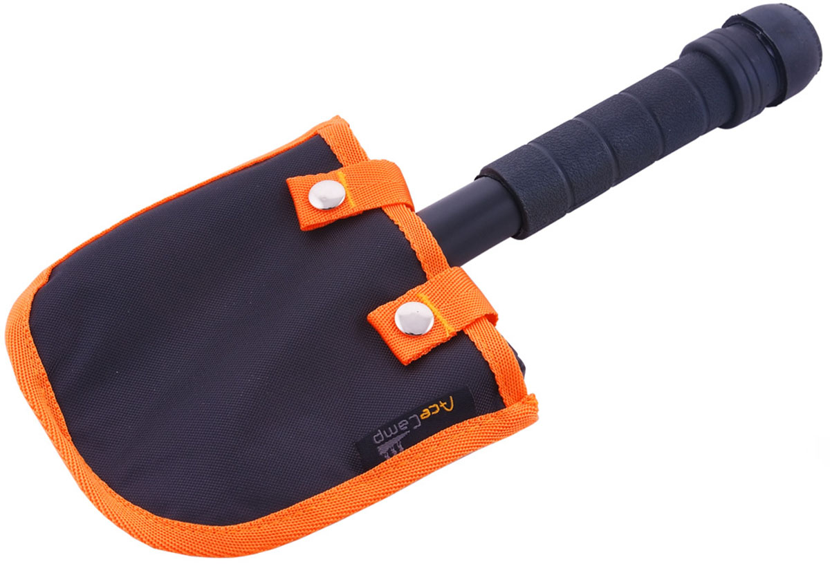 Лопата-мультитул AceCamp Выживающий, цвет: черный. 2586