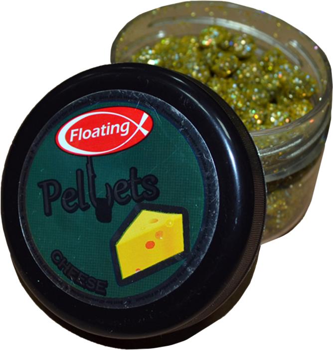 Пеллетс форелевый FishBait Сыр, насадочный, плавающий, 75 мл